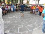 JUego raramuri del estado de Chihuahua en el   XVIII Encuentro Nacional de Juegos y Deportes Autóctonos y Tradiiconales , San Luis Potosí, 18 Julio 2015