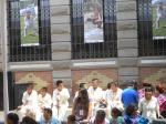 Niños Olmecas participantes en los XVIII Juegos y Deportes Ciudad de San Luis Potosí
